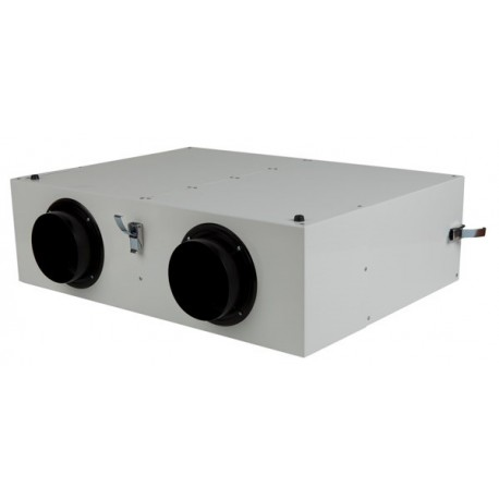 Caisson de distribution d'air insonorisé extra-plat Sky150 - 2x125mm