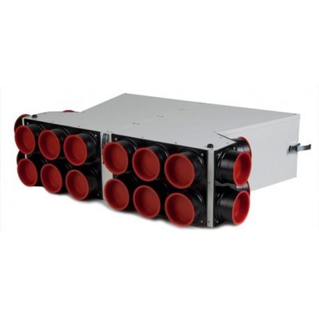 Caisson de distribution d'air insonorisé extra-plat Sky150 -2x10 AE34