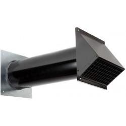 Terminal prise d'air noir DN160 mm