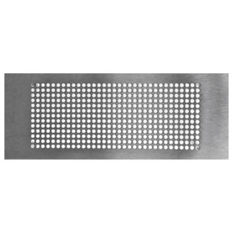 Grille rectangulaire inox 300x100