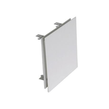 Diffuseur carré réglable blanc RAL9010 pour Té DN125