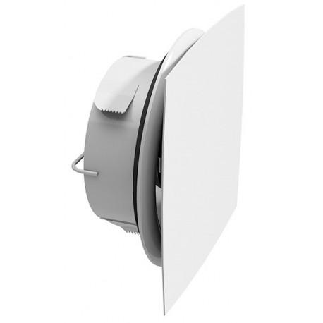 Façade de bouche design arc extraplate blanc RAL 9010