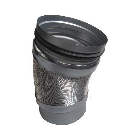 Raccord flexible M/F ø160 pour chapeau de toiture universel
