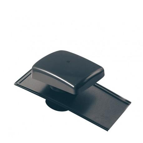 Chapeau de toiture univ Tuile ø 100 à 160mm Anthracite