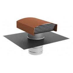 Chapeau de toiture métal Tuile CTM DN 160 mm