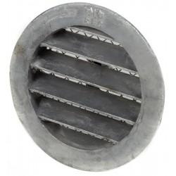 Grille lamelle aluminium DN 100 mm - verni