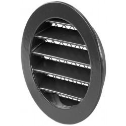 Grille lamelle aluminium DN 100 mm - RAL 7016