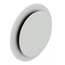 Bouche design plafond à effet coanda ronde ø125
