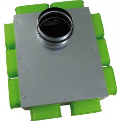 Caisson de distribution d'air plat SC DN160-10 (8-AE35 2-AE55)