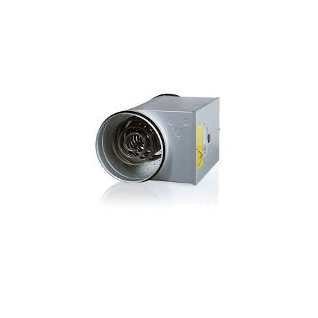 Batterie post-chauffage fluxostat intégré 1200W/DN160