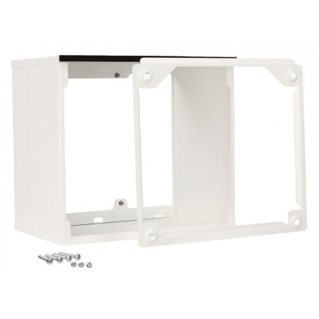 Rallonge grille ext blanc 450-500