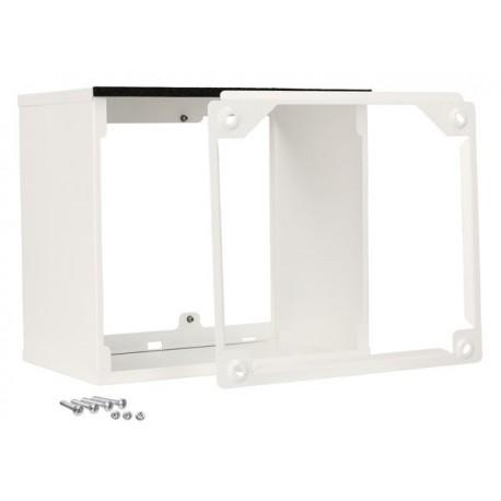 Rallonge grille ext blanc 400-450