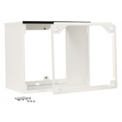 Rallonge grille ext blanc 350-400