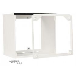 Rallonge grille ext blanc 300-350
