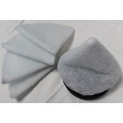 Filtre pour bouche d'extraction ronde (x10u)