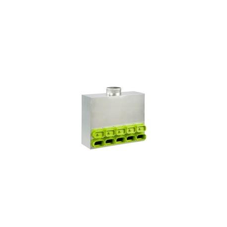 Caisson de distribution d'air insonorisé SC DN160-9 (7-AE35 2-AE55)